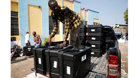 DRC vote 'generally peaceful'