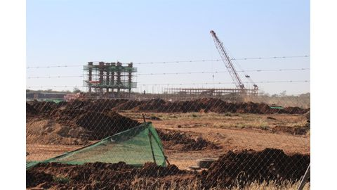 Chinese labour on cement project to be phased out