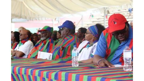 Who qualifies to lead Swapo?
