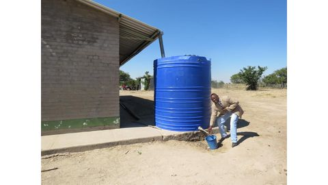 A community's long walk to potable water