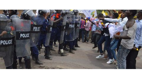 DRC crackdown on protests
