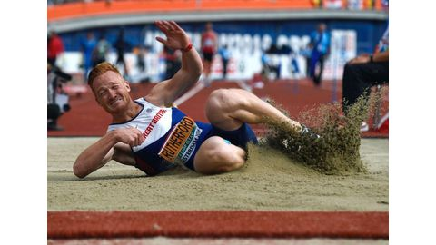 Long jump champion withdraws from 2017 world championships