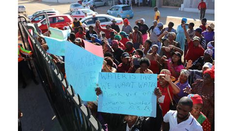 Rehoboth residents stage march