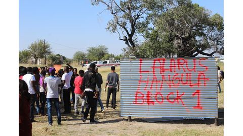 Unam students charged for grabbing land