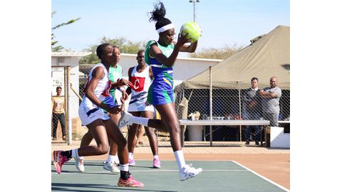 Namibia jumps 8 places in netball rankings