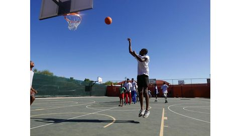 Basketball workshop concludes successfully