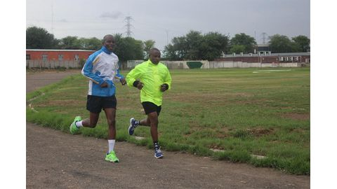 Sportsmen and women back to training