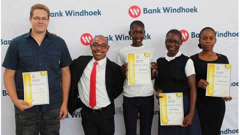 Bank Windhoek recognises NAMCOL's top achievers