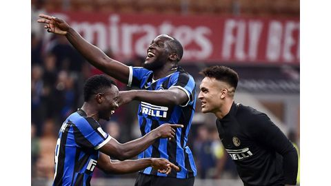 Lukaku helps keep perfect Inter top with derby triumph