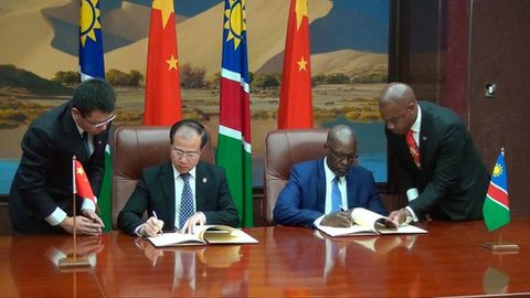 Namibia and China ink deals