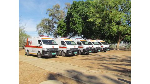100 vehicles missing at health