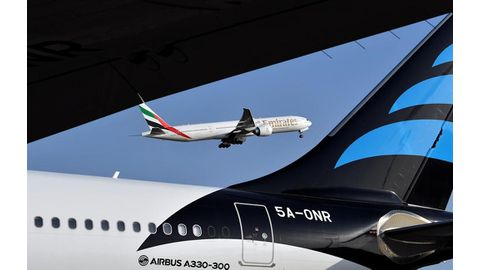 Global air traffic at new record: UN agency