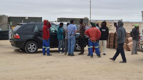 Unrest at Mass Housing site