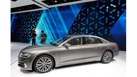 Audi takes lead in automated driving, others wary