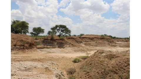 Three girls drown in sand pits