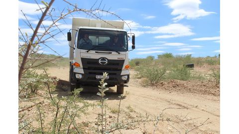 Hino's 500 Wide Cab: leading the logistical pack