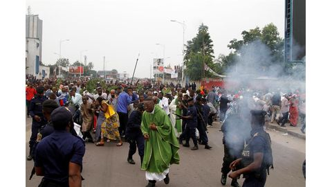 Catholic crackdown in DRC