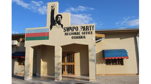 Dilapidated Swapo office unsafe