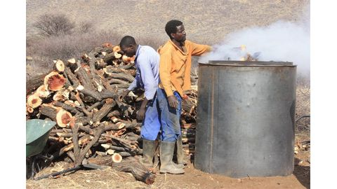Charcoal industry sets minimum wage