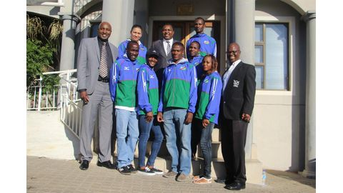 Local athletes off to world stage