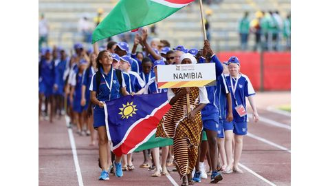 Team Namibia geared up for games