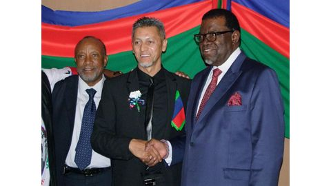 Honorary doctorates for Namibians