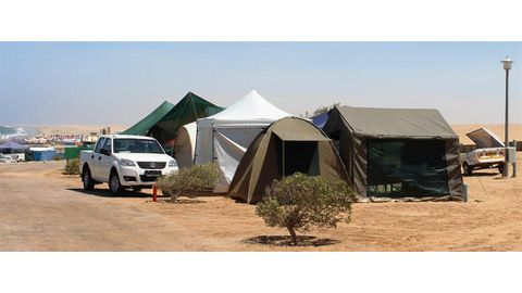 Illegal campers fined