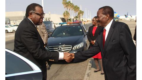 Change in Geingob's security detail