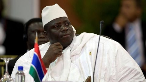 Gambia ex-president accused of ordering 50 migrant deaths
