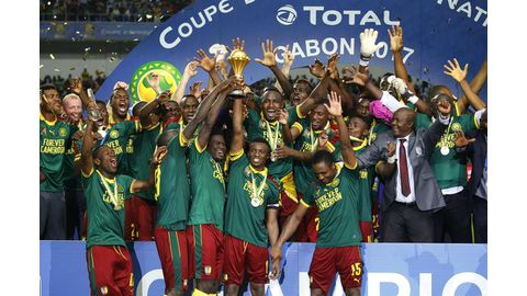 Cameroon topple Egypt to win Afcon