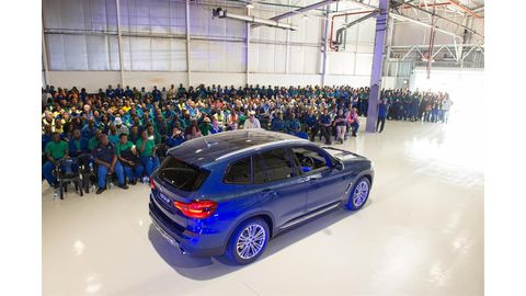 Production of the new BMW X3 starts at Rosslyn