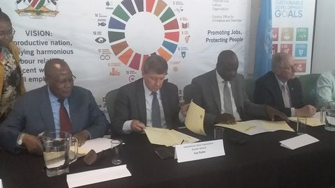 Drive to ensure decent work in Namibia