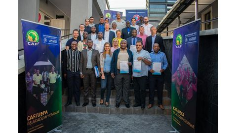 Rukoro delighted with CAF workshop