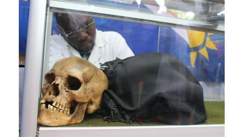 Witbooi's stolen Bible coming home with skulls