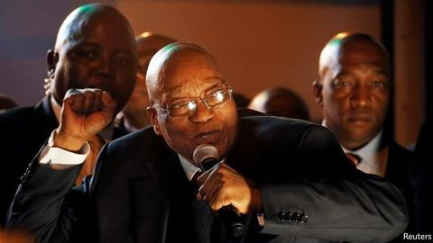 Zuma hunts for SADC back-up dancers, musicians