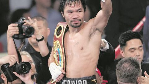 Pacquiao reclaims WBO title for third time