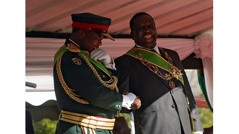 Mugabe ouster for 'personal gain'