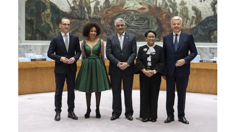 South Africa takes up Security Council seat
