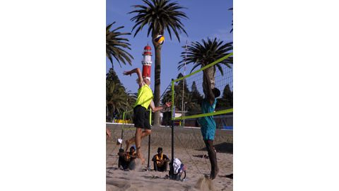 Beach volleyball to pull large crowd