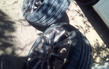 Rims and Tyres size 19