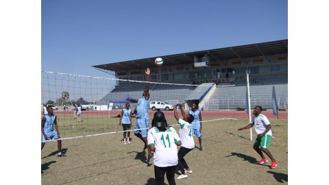 NVF conducts CAVB volleyball coaching course