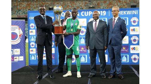 Cosafa Cup is about development - Mbidi