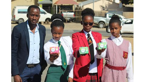 Initiative to deliver sanitary pads