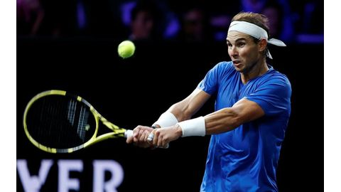 Nadal withdraws from Laver Cup
