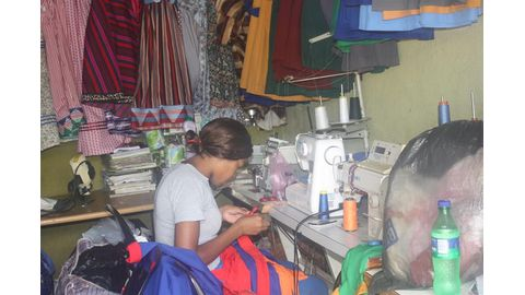 Local tailors prepare for schools' reopening