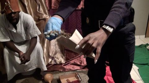 Foreign traditional healer nabbed