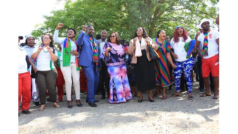 Swapo faction rejects two centres of power