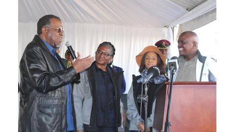 Geingob officiates at Ghanzi Agricultural Show