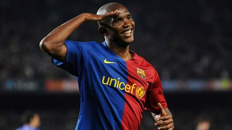 Eto'o hangs up his boots