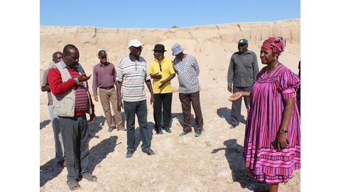 Sand mining not traditional authority's fault